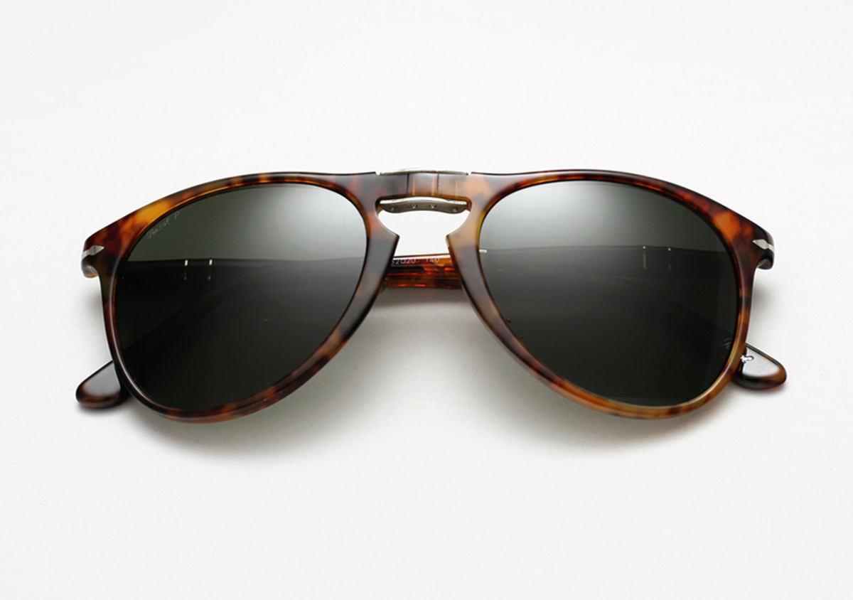 1972628dfb You know those classic Persol 714 sunglasses Steve McQueen made famous way  back when  You know the ones.
