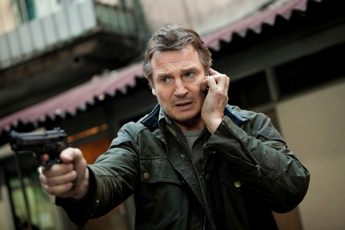 Taken 2 - Bryan with cell phone