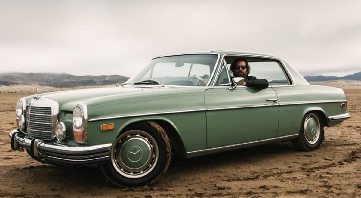 Vintage mercedes benz california desert beyond cool for Mercedes benz california