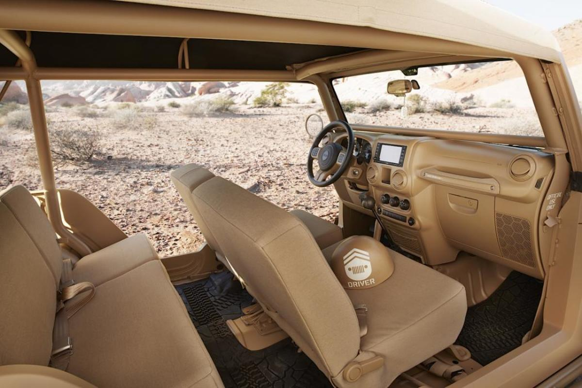 Jeep® Staff Car Concept Interior