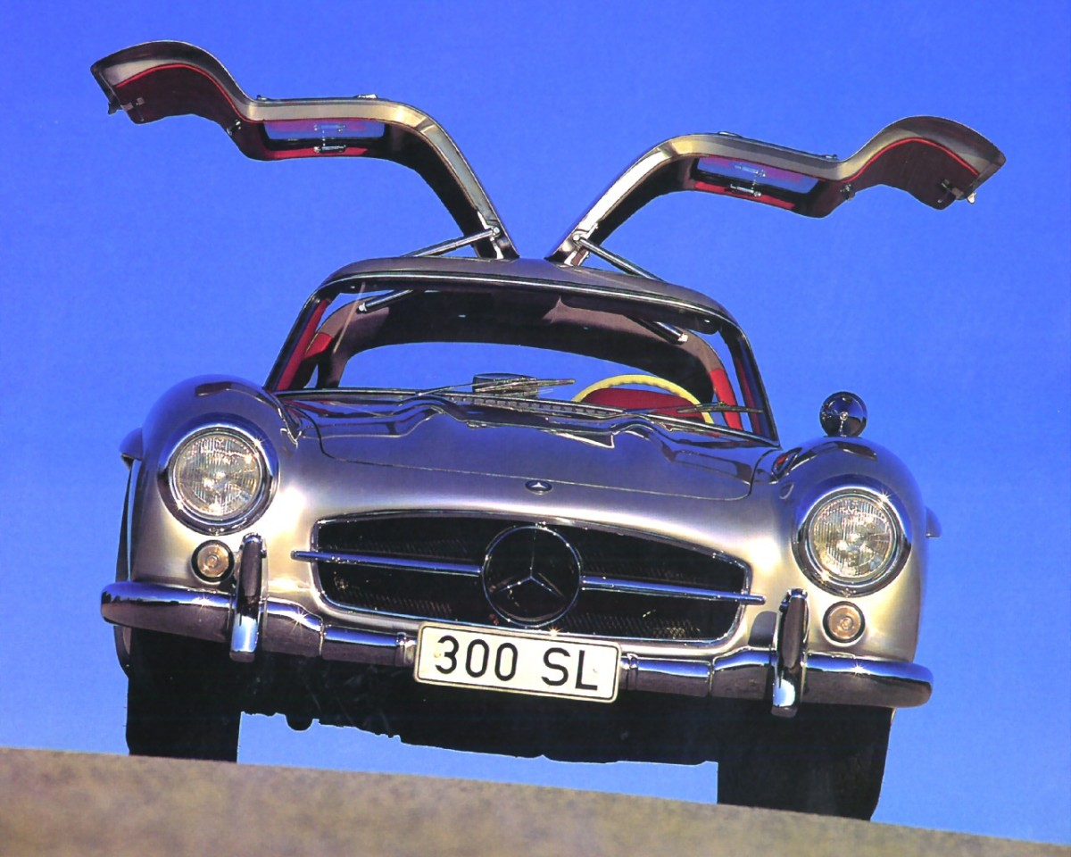 1955-Mercedes-Benz-300SL-Gullwing-Coupe-Silver-fv