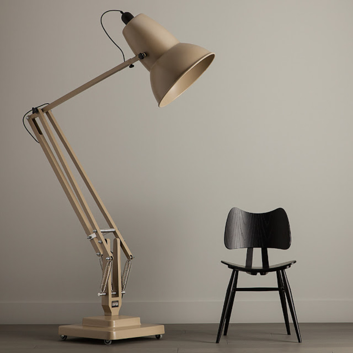Oversized floor lamp by george carwardine airows really cool oversized floor lamp by designer george carwardine kind of a cool and funky look for an otherwise standard type of furniture aloadofball Image collections