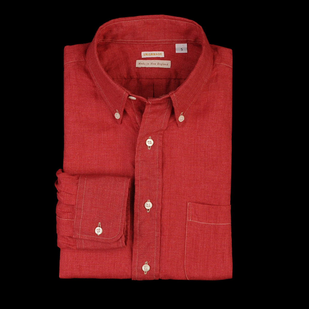 Linen_Solid_Shirt_in_Red_0