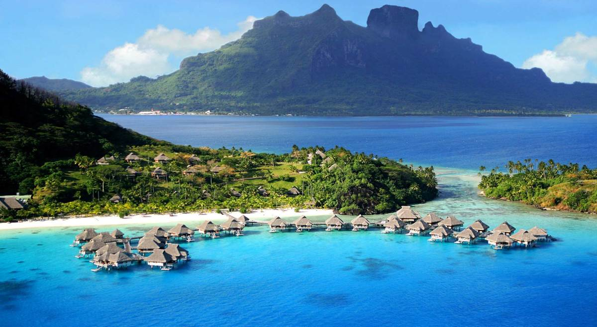 French Polynesia Homepage Background