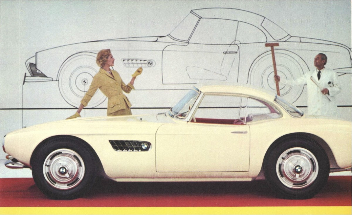 BMW 507 Advertisement
