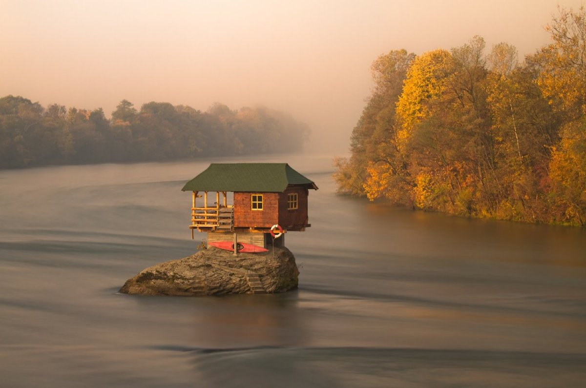 House on the Drina River