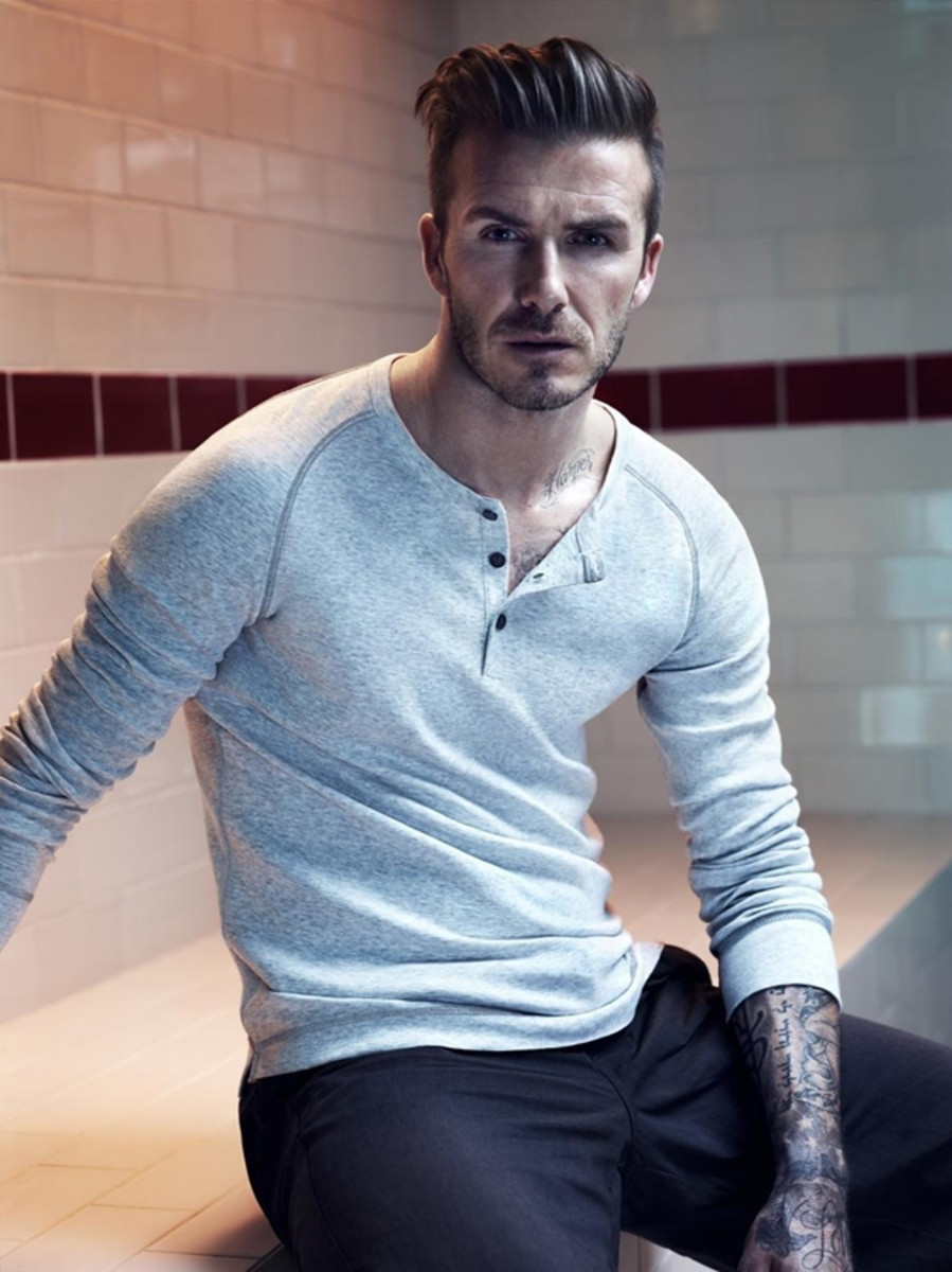 Steal The Look David Beckham And Brad Pitts Haircut Airows