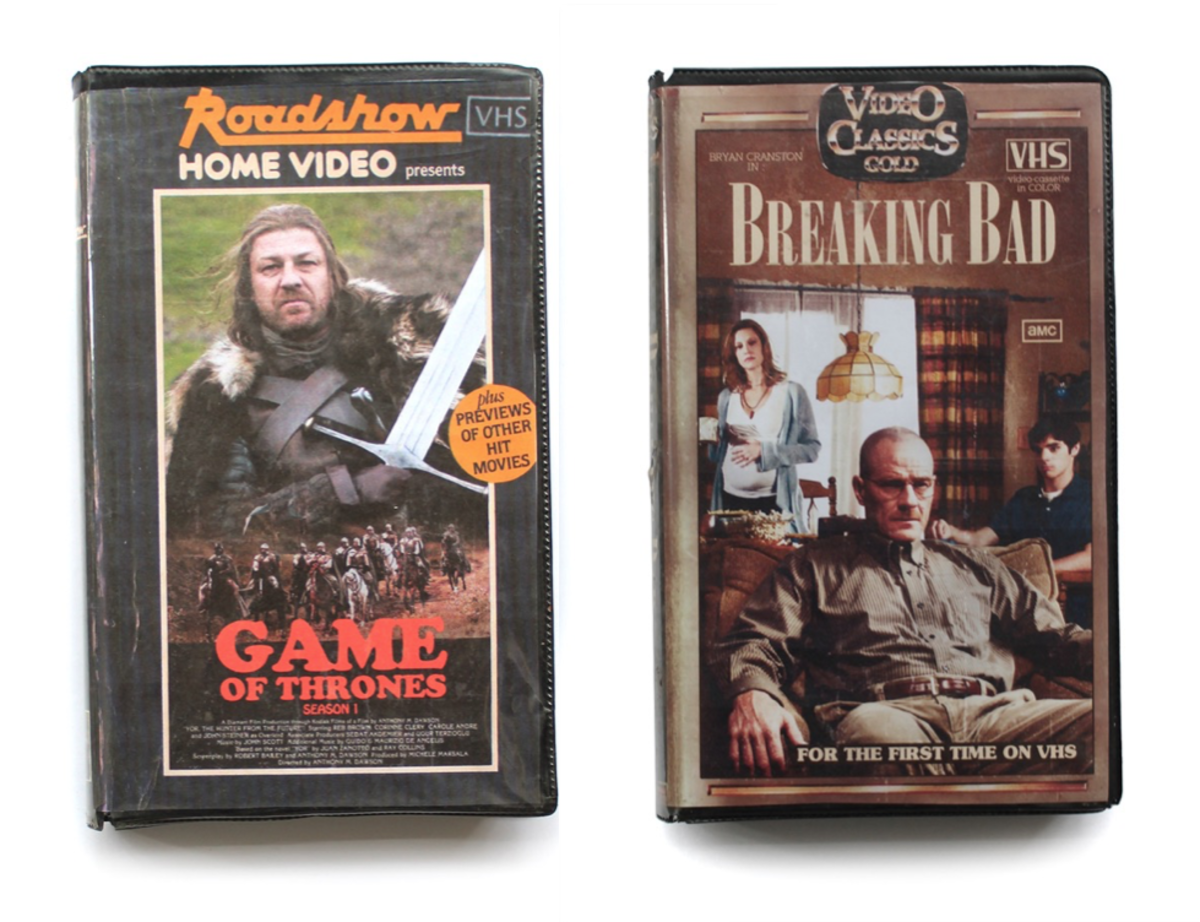 Graphic Designer Created Amazing Fake VHS Covers For Modern