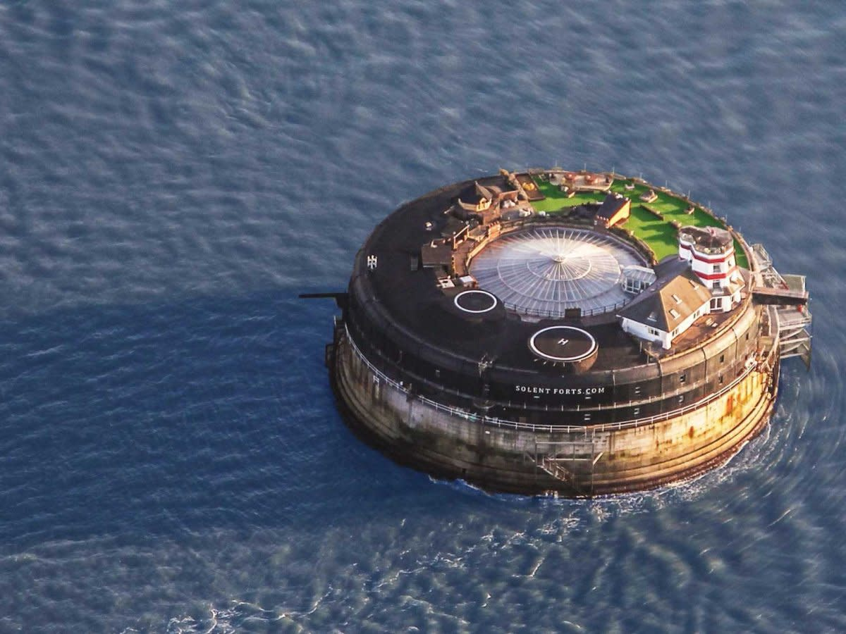 This 19th Century Sea Fort Turned Luxury Hotel Is Incredible