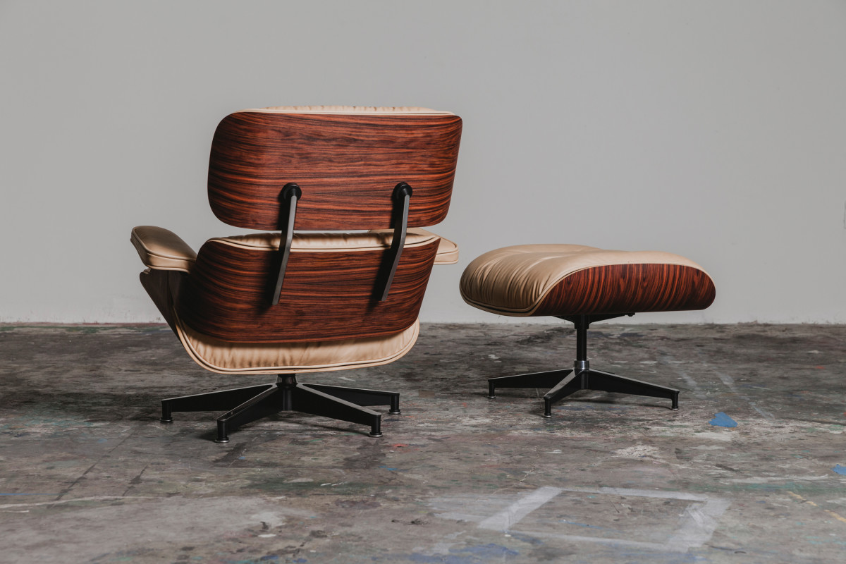 Gorgeous Limited Edition Eames Lounge Chair By 3sixteen