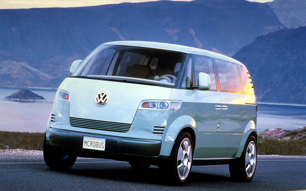 VW Is Making An All-Electric Surfer Van - Airows