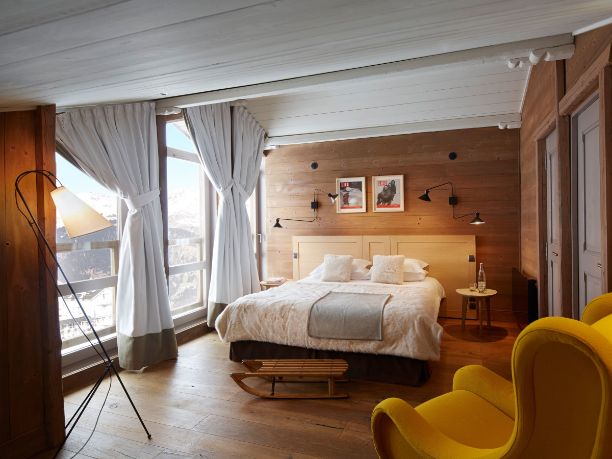 The ultimate french alps getaway airows for Design hotels alps