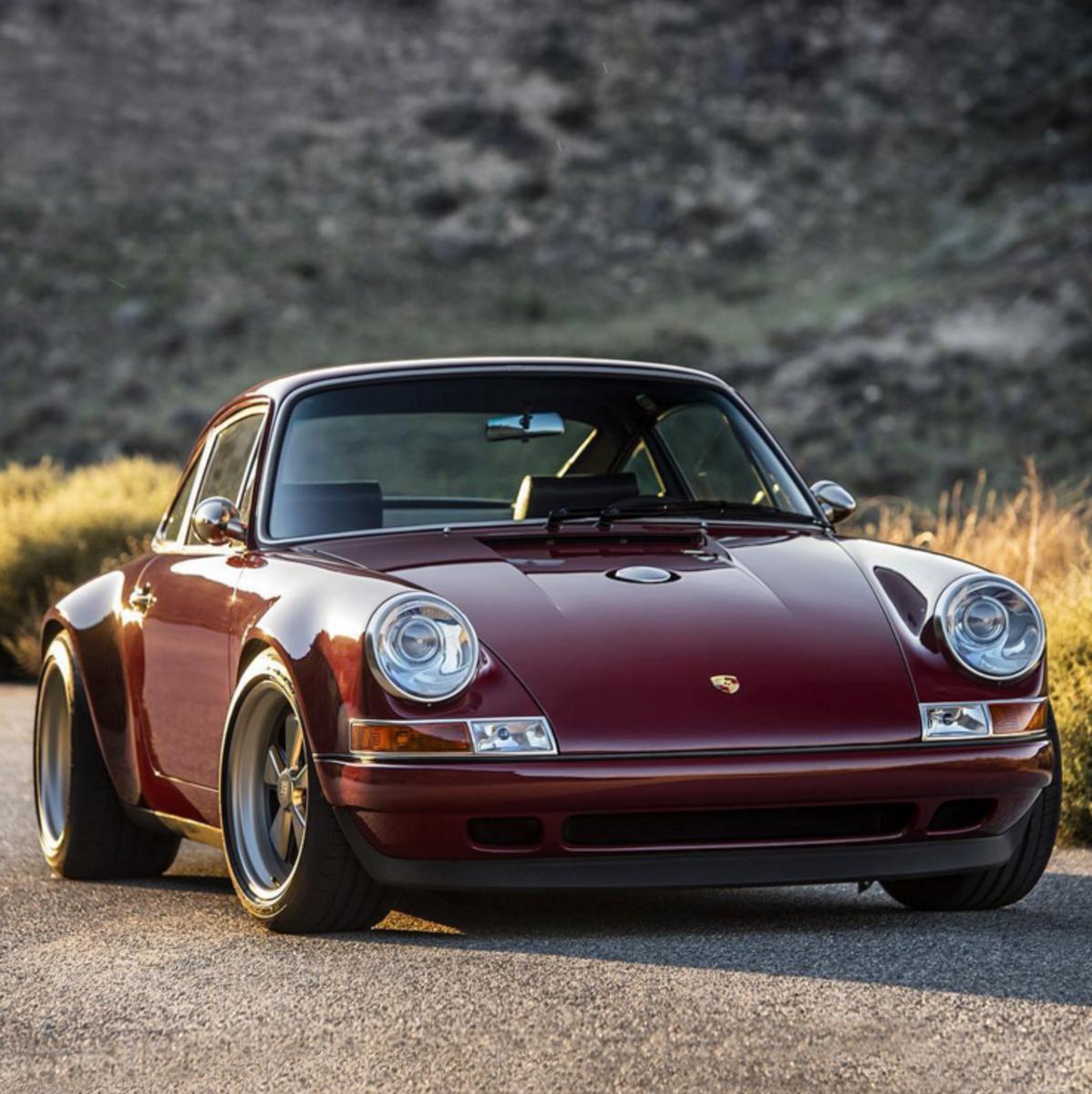 Porsche 911 Car: Car Porn: Customized Oxblood Porsche 911