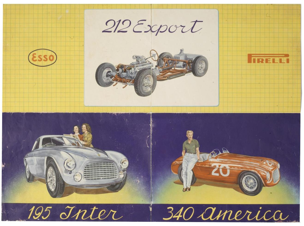 Cool Examples Of Vintage Ferrari Graphic Design Airows