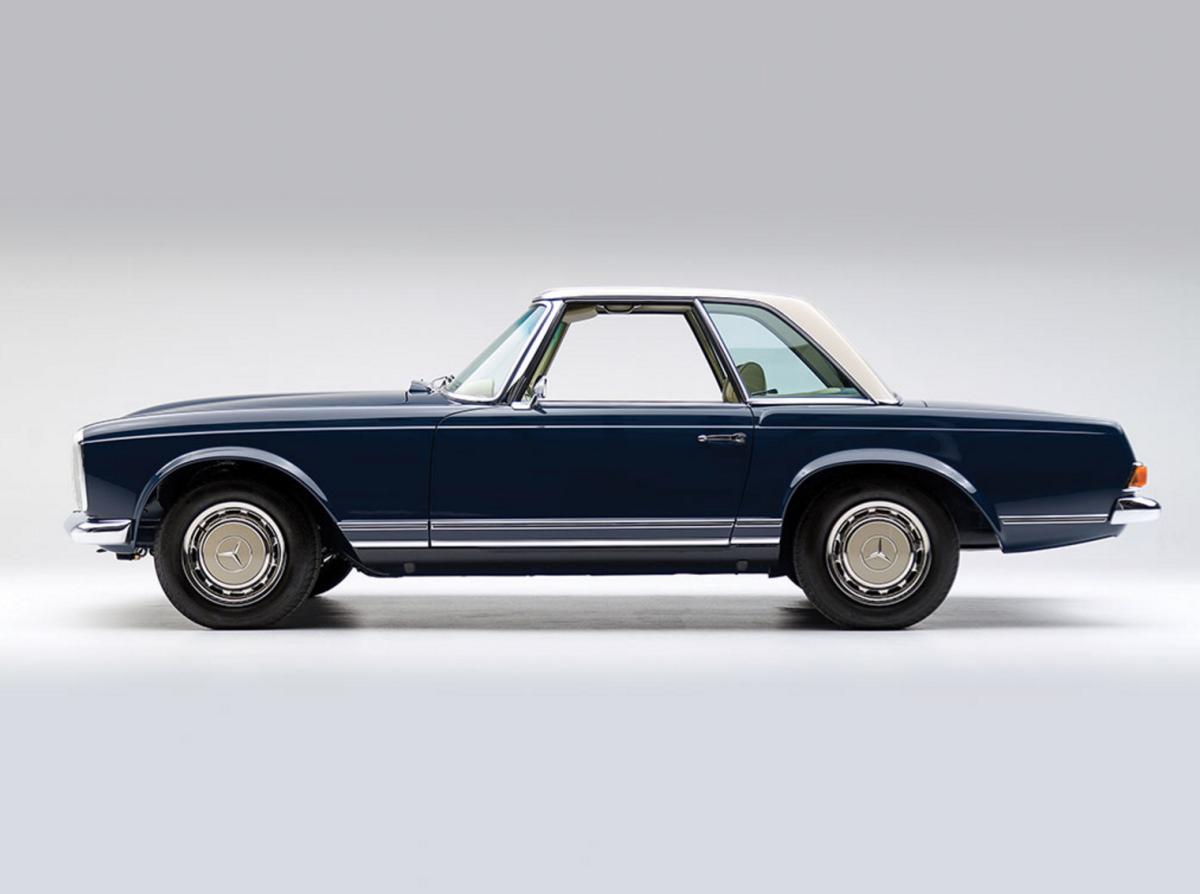 Car porn 1968 mercedes benz 280 sl 39 pagoda 39 airows for Mercedes benz 280sl pagoda
