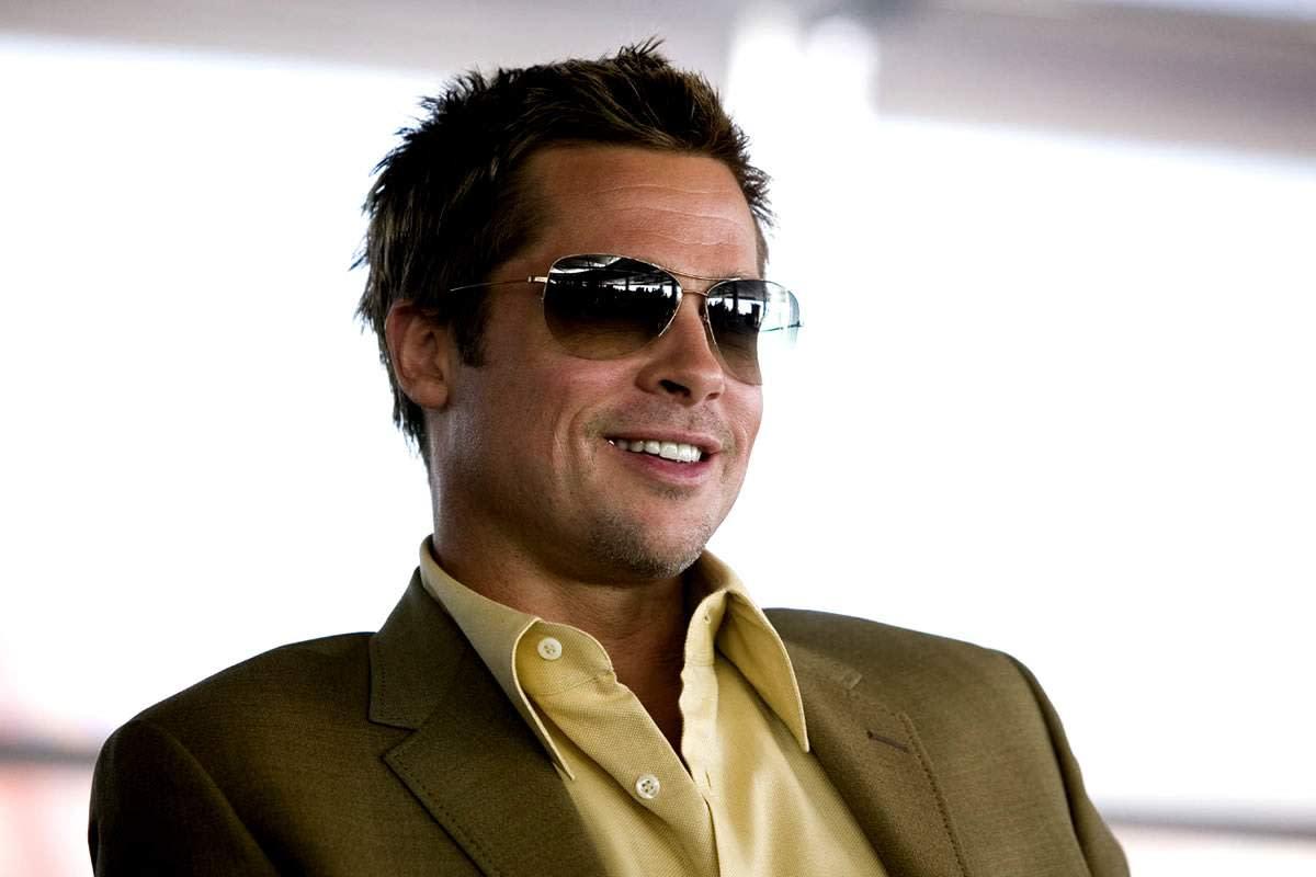 Bradd Pitt Aviators