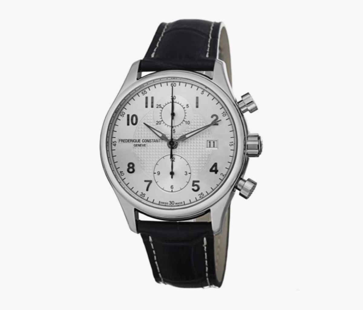 10 absurdly cool swiss watches under 1 500 airows 3 frederique constant runabout automatic