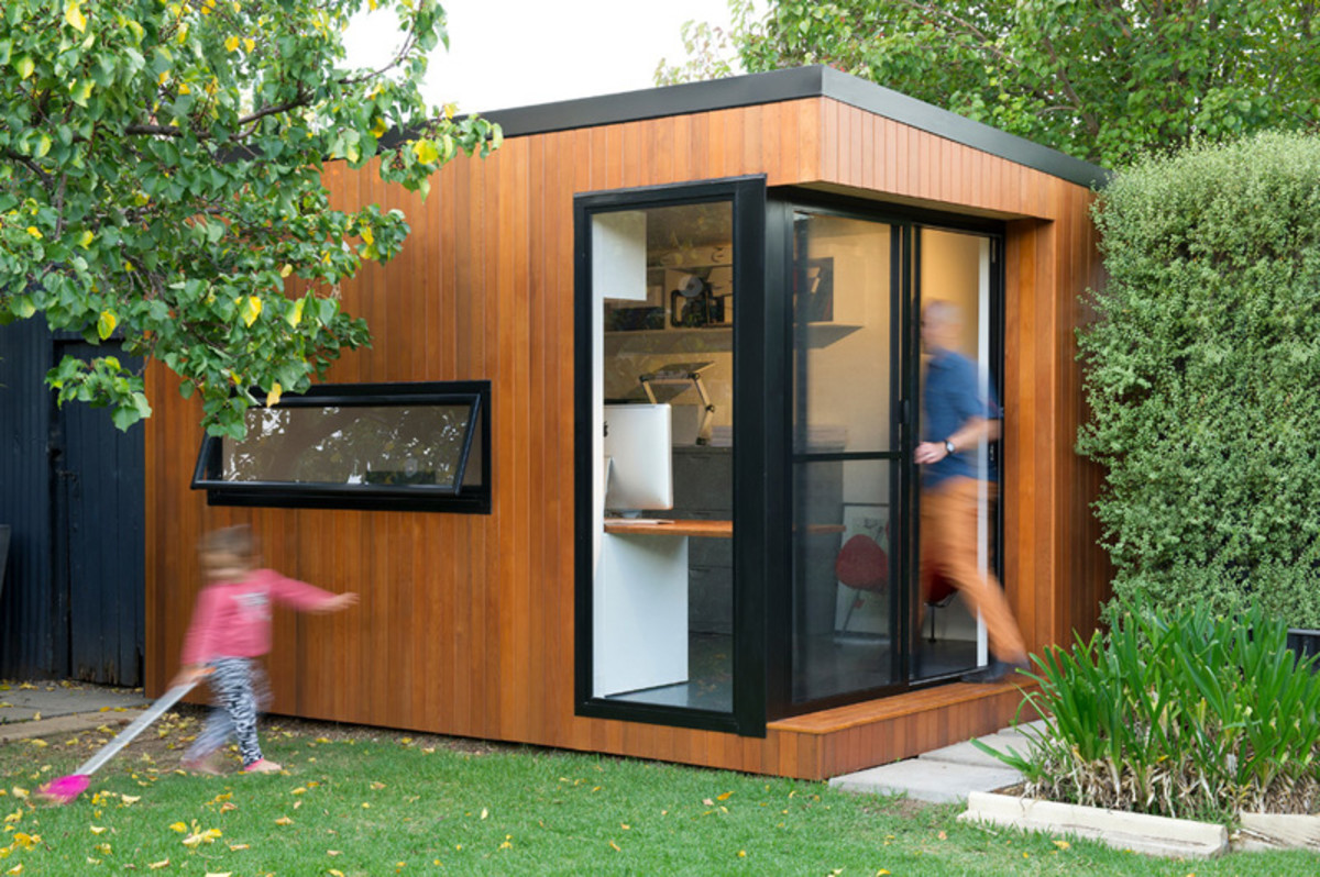 these prefabricated backyard offices are incredible airows