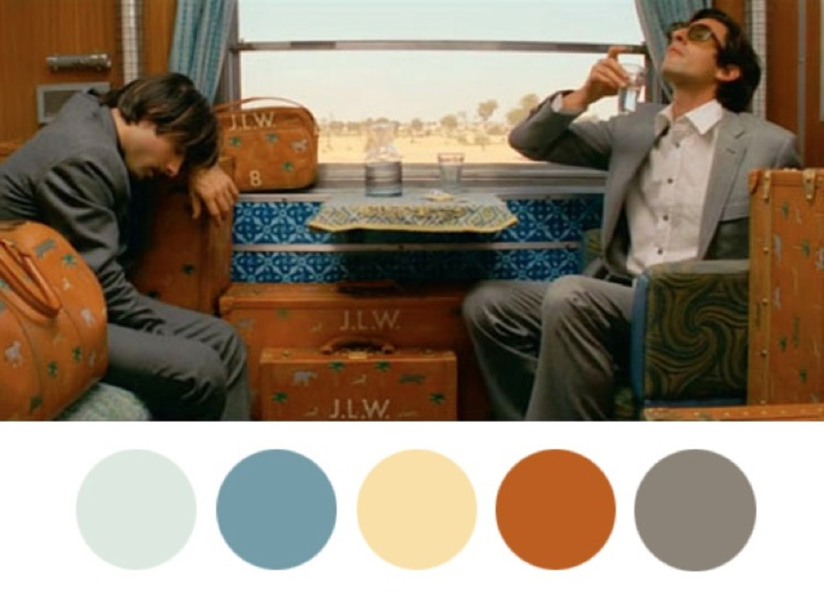 Great Tumblr: Wes Anderson Color Palettes - Airows