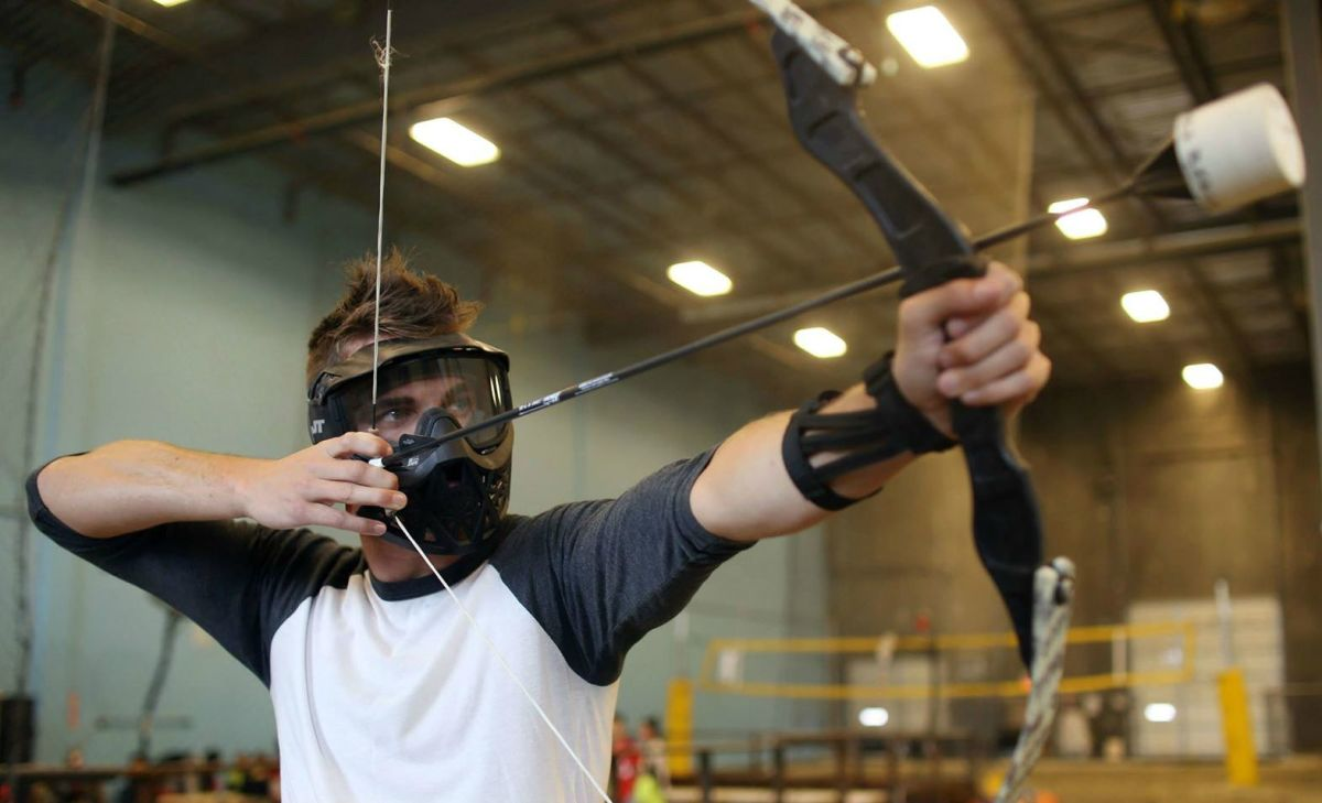 Coolest Hat Ever >> Archery Dodgeball Looks Like The Coolest Game Of All Time - Airows