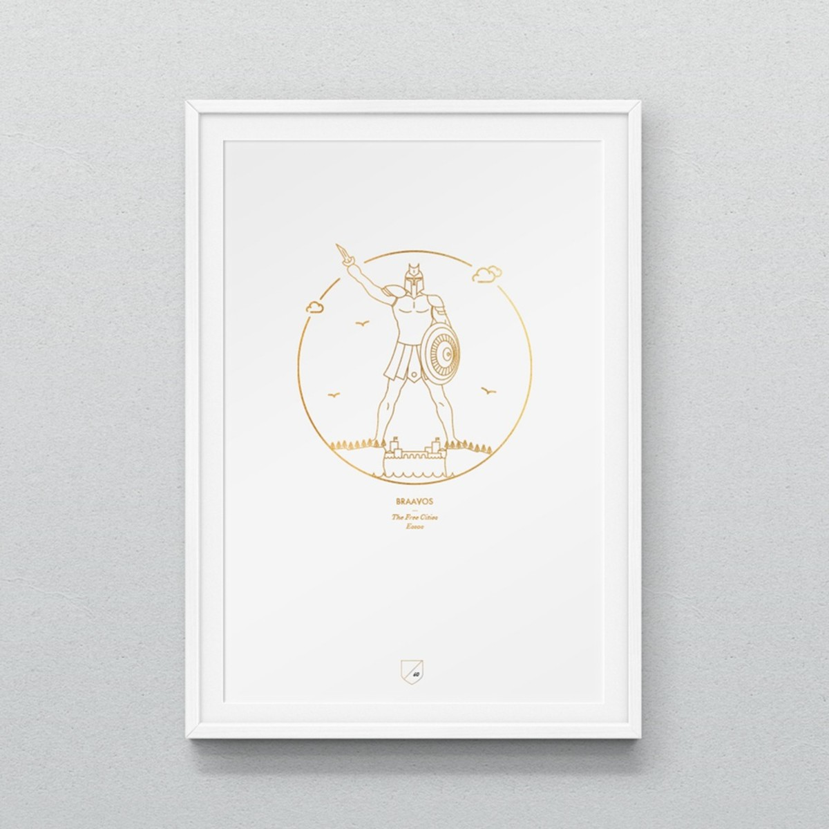 These Minimal Prints Beautifully Highlight \'Game Of Thrones ...
