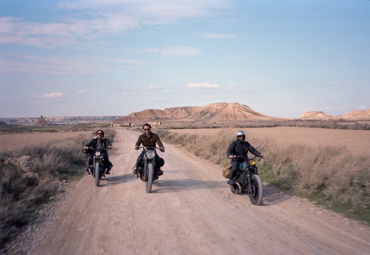 Road Tripping On A Motorbike
