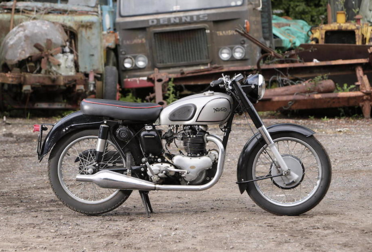 45 Classic British Motorcycles Found In A Barn Are Being ...
