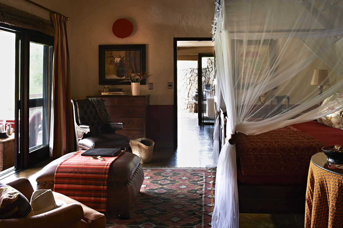 Inside A Perfectly Designed Safari Lodge With Tons Of