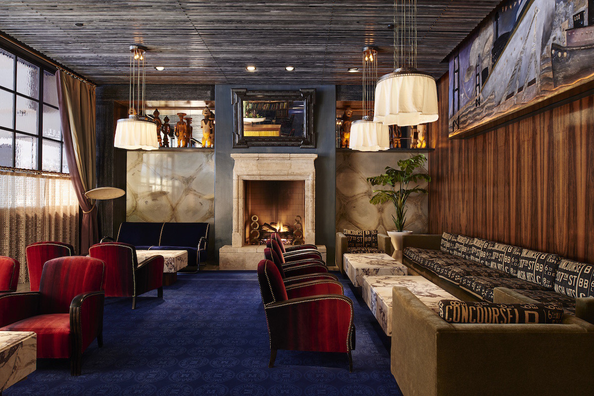 5 handsome nyc hotels with roaring fireplaces airows