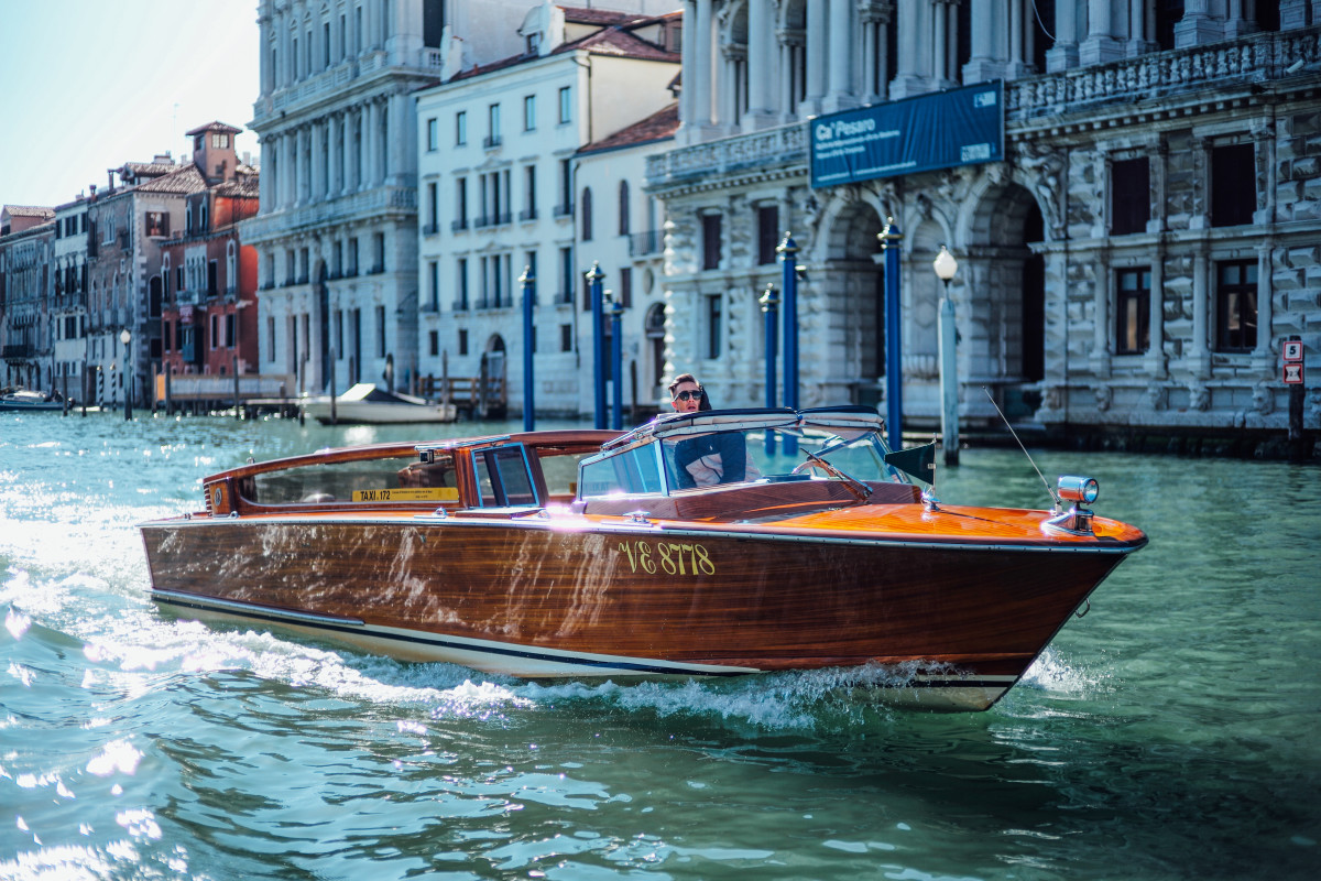The Beautiful Riva Boats Of Venice Airows