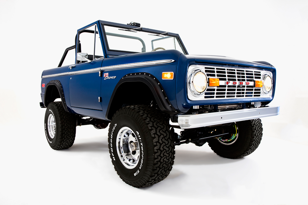 Classic Ford Broncos