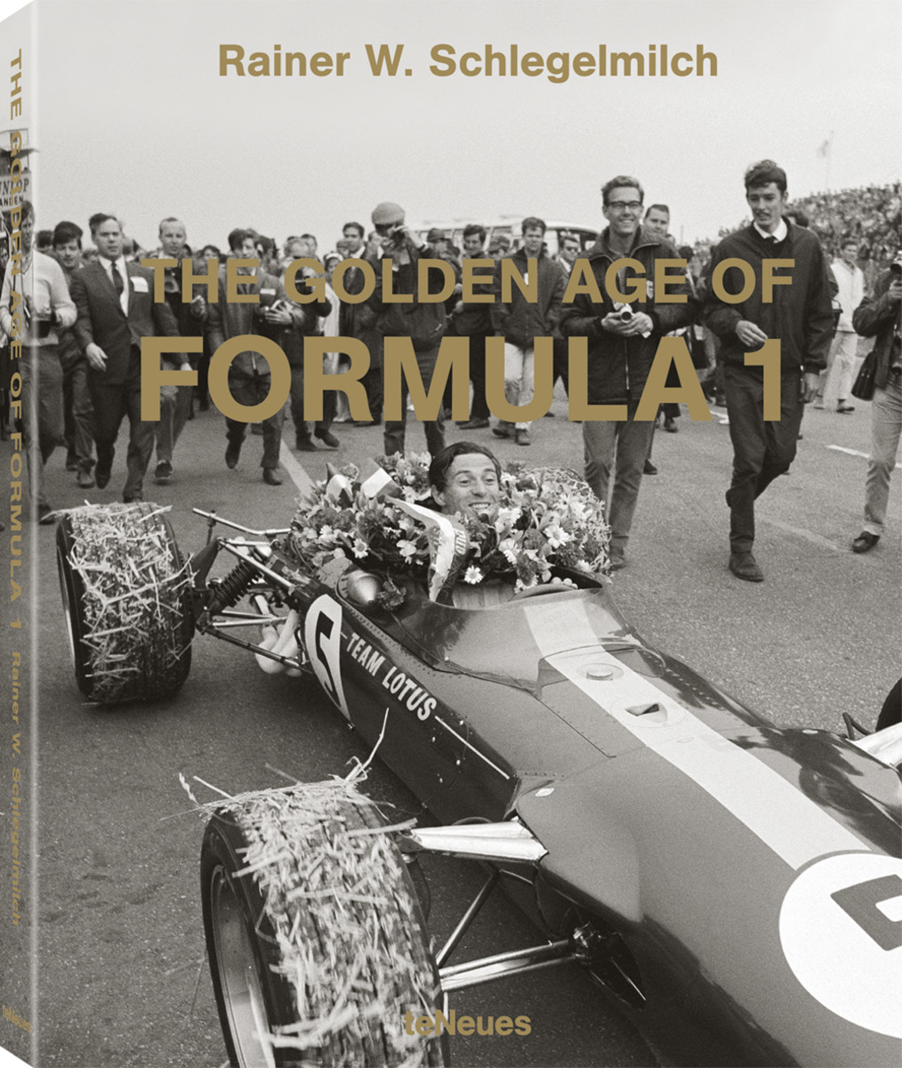 © The Golden Age of Formula 1 by Rainer W. Schlegelmilch, Small Format Edition, published by teNeues, $45 - www.teneues.com