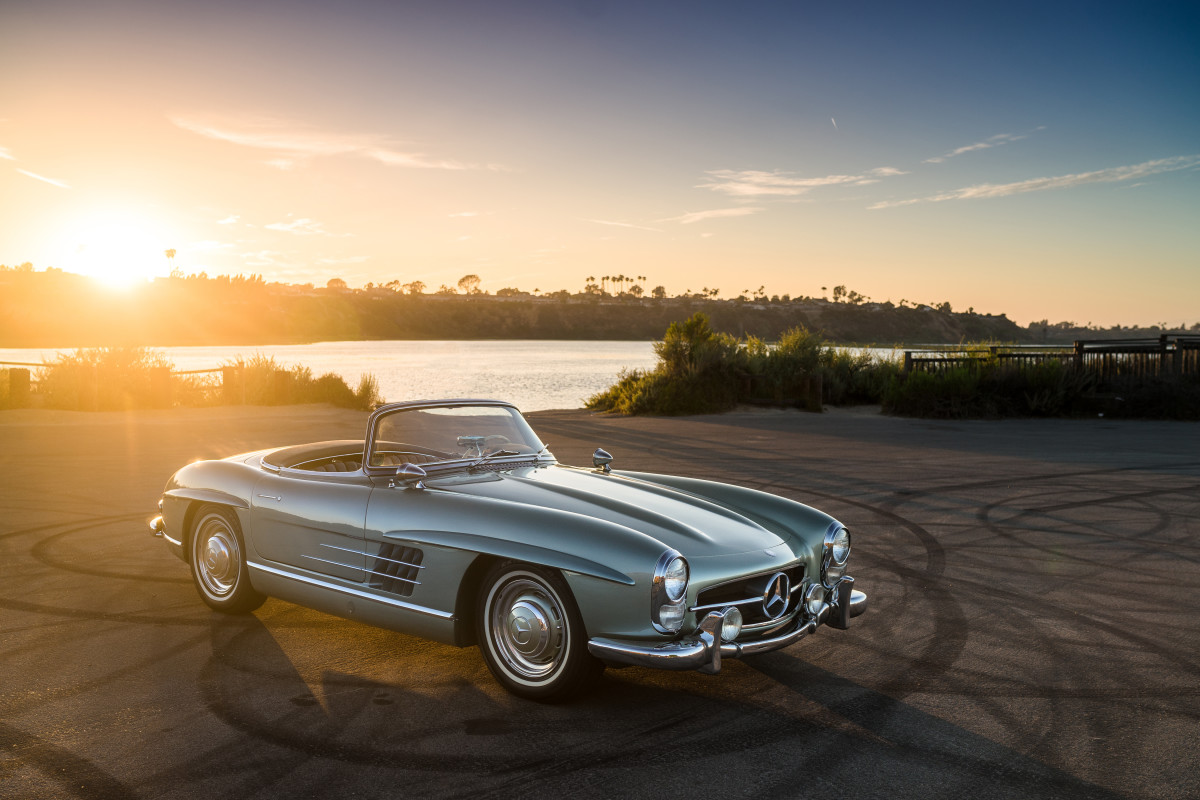 This timeless 1960 mercedes benz 300 sl roadster is for Looking for a mercedes benz