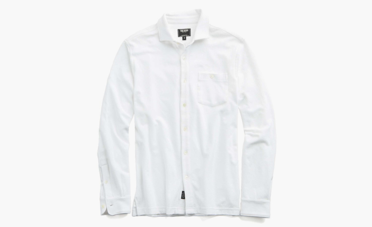 Todd snyder 39 s button up polo shirt is all kinds of cool for Different types of polo shirts
