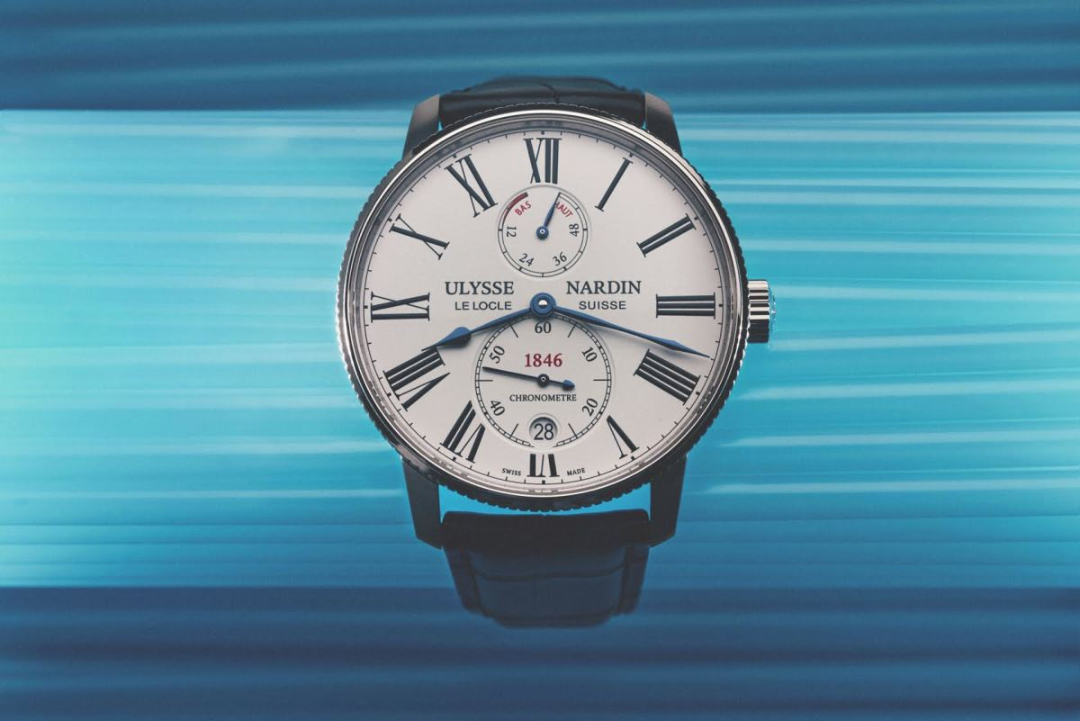 Ulysse nardin 39 s marine torpilleur is a tribute to nautical for Torpilleur cuisine