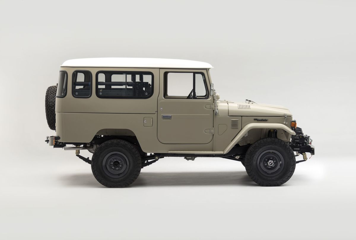 Car Porn: Restomod 1979 Toyota FJ43 by The FJ Company - Airows
