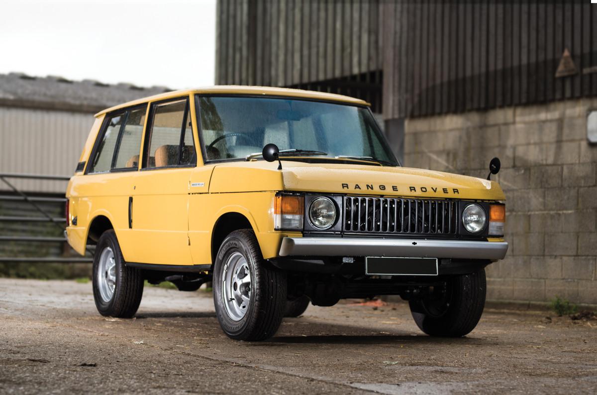 Car Porn: 1973 Land Rover Range Rover - Airows