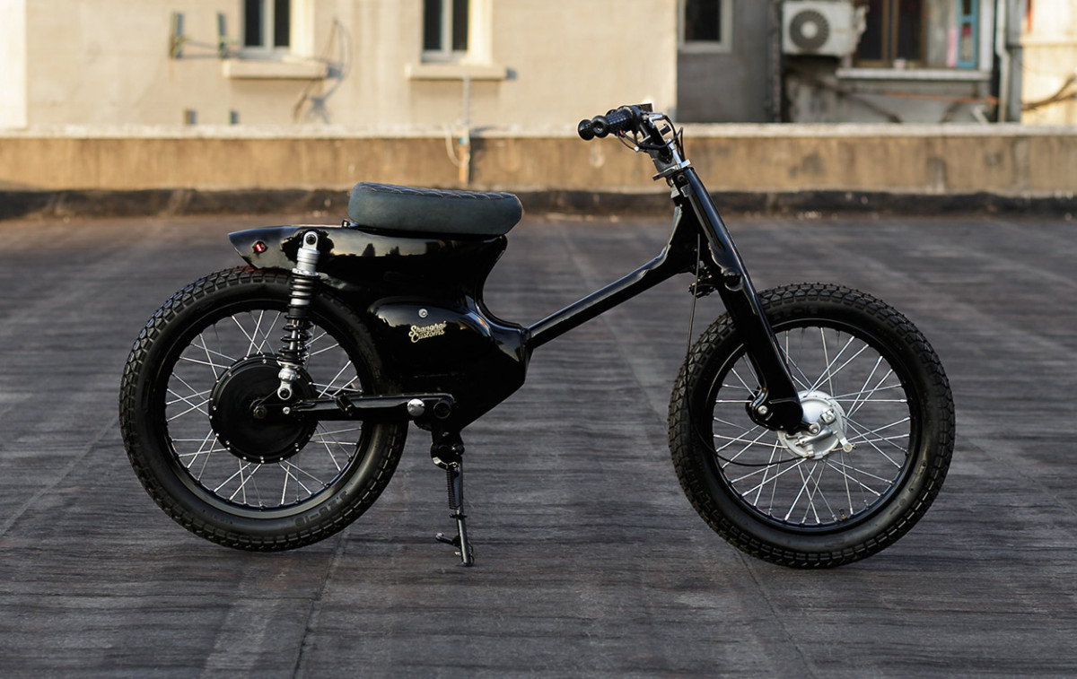 The Blacked Out Electric Scooter You Didn T Know You