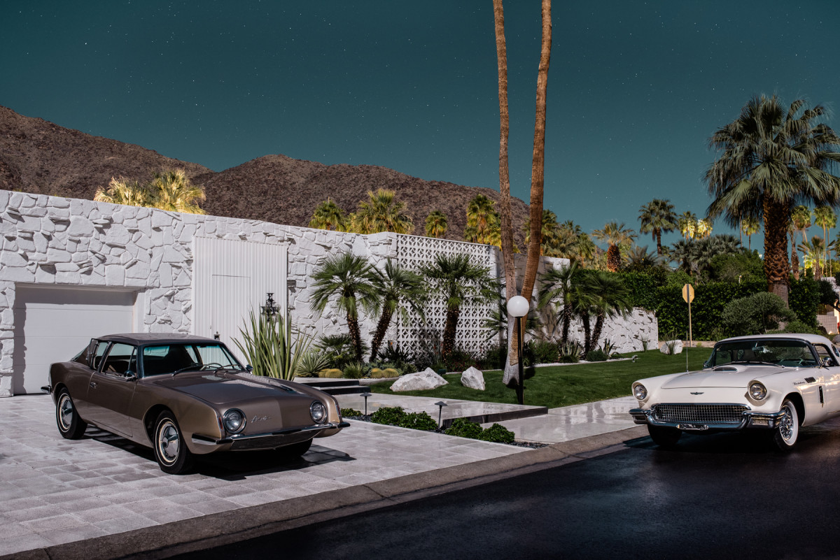 This Stunning Photo Series Pays Homage To Palm Springs And Classic - Palm springs classic car show