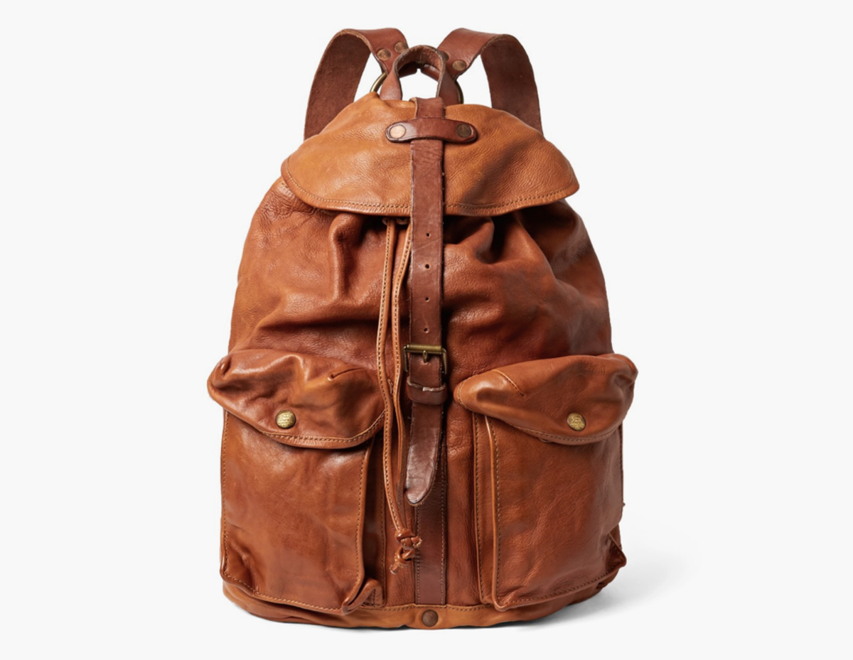 0c61159b2e This RRL Leather Backpack Has Serious Rugged Appeal - Airows