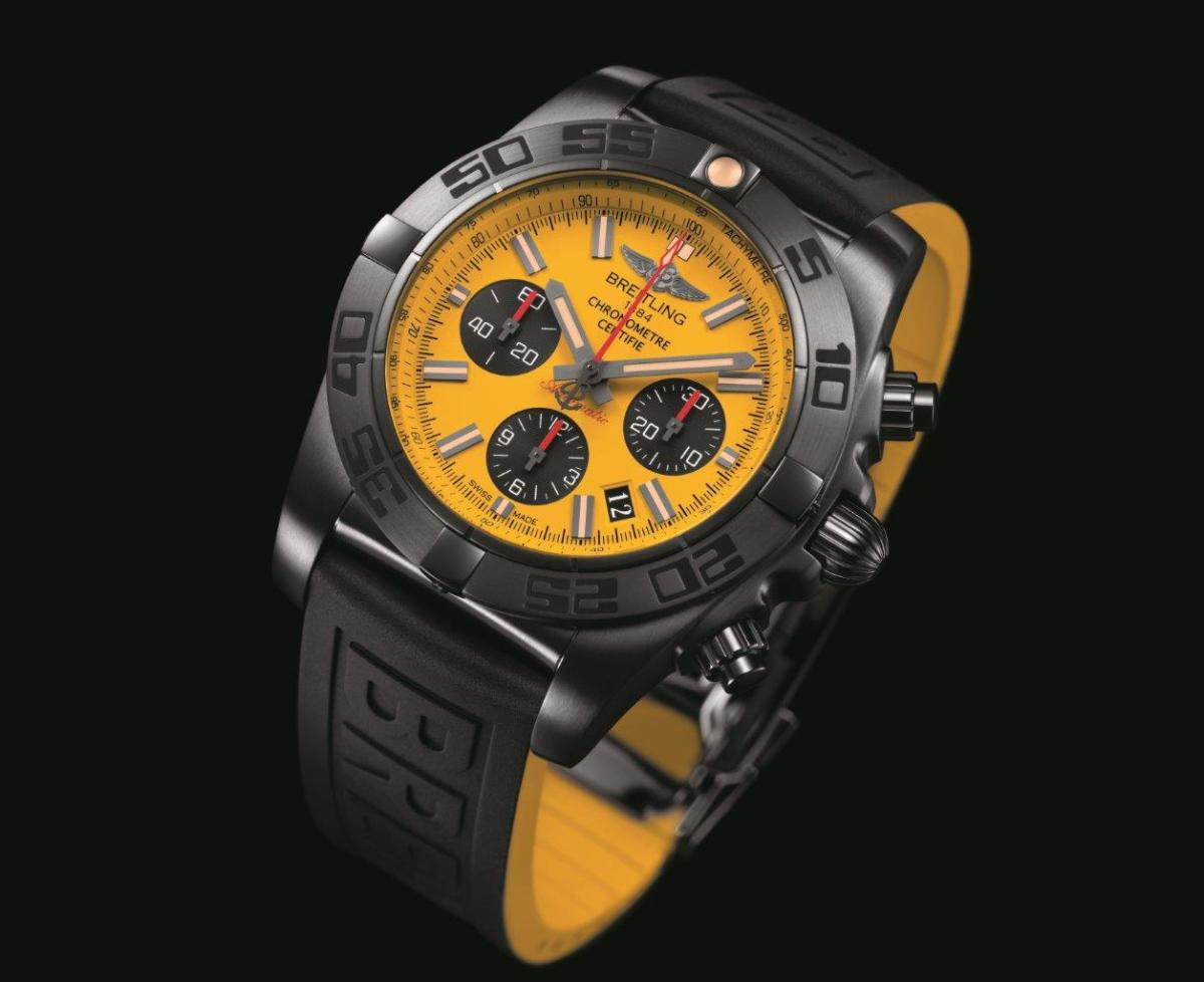 The Breitling Chronomat 44 Blacksteel Special Edition Is A