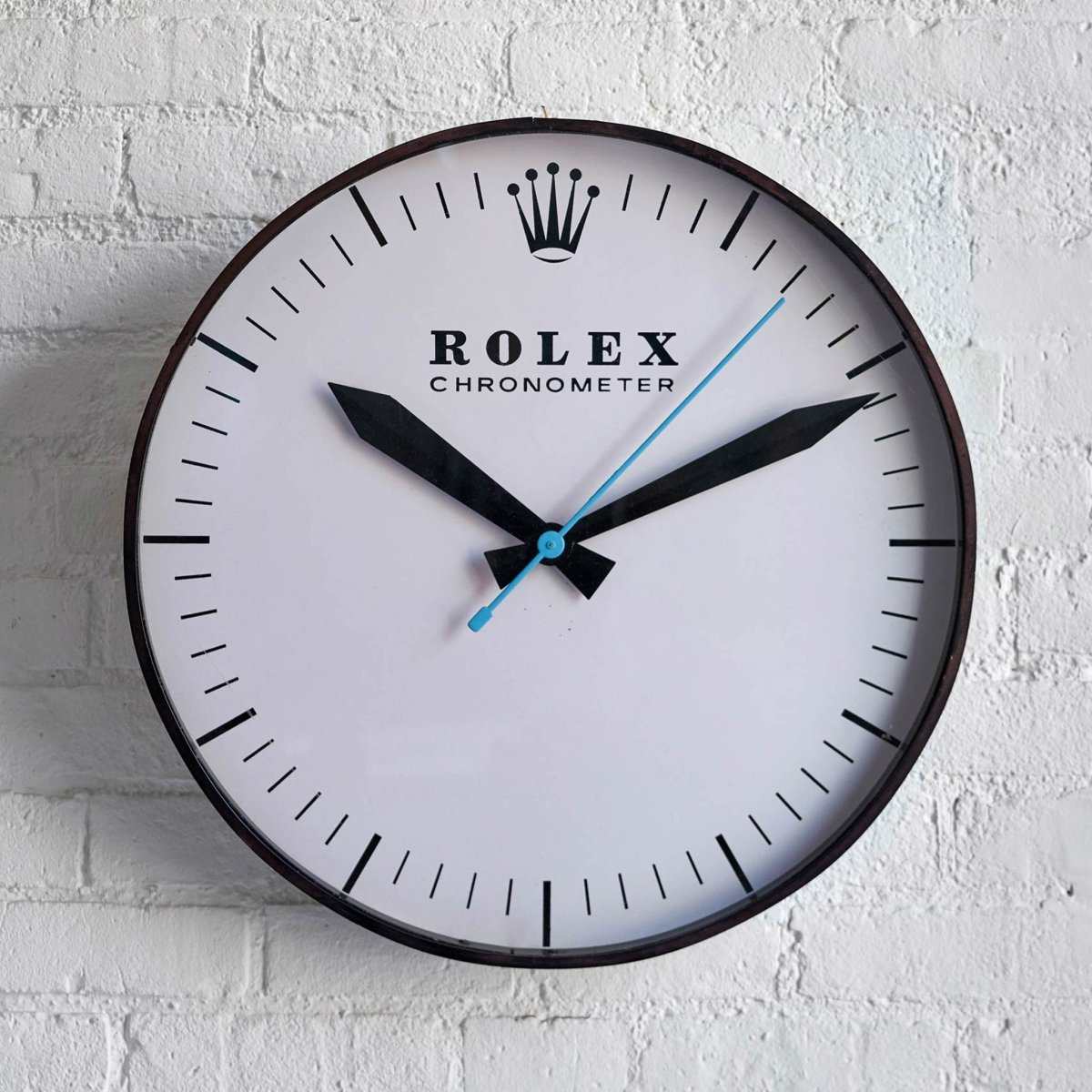 This 1960s Rolex Wall Clock Will Instantly Upgrade Any ...