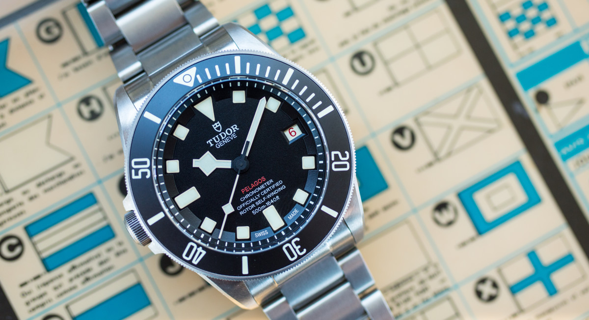 Tudor unveils stunning limited edition dive watch for - Tudor dive watch price ...