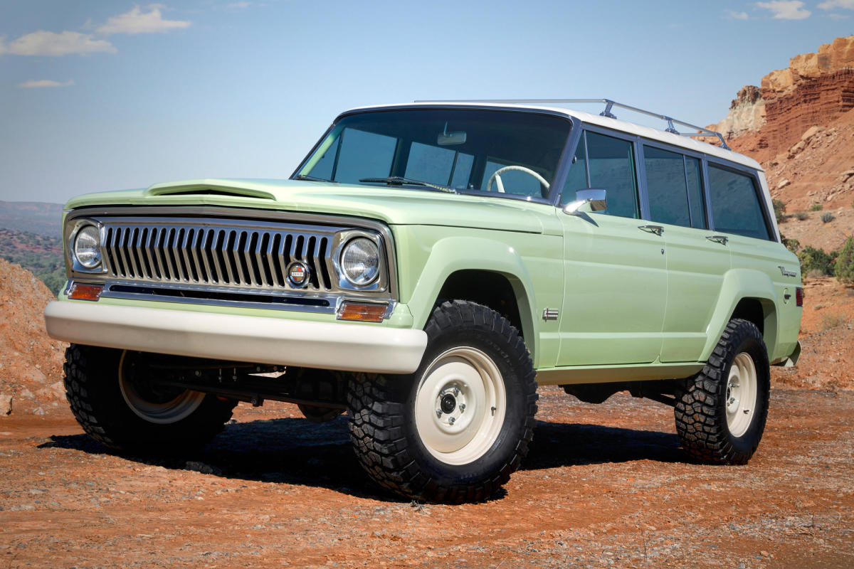 This 1965 Jeep Wagoneer Is Resto Modded To Perfection Airows