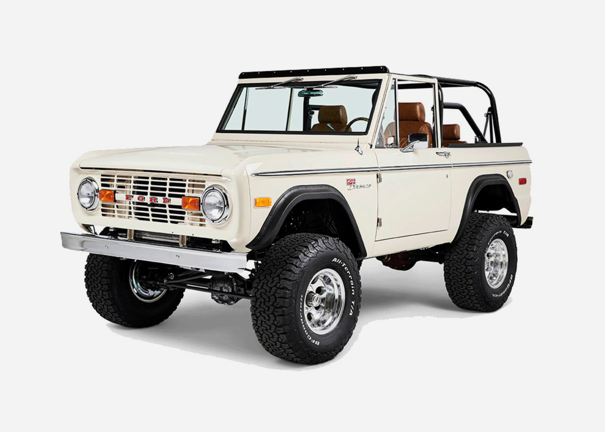 Custom Ford Broncos