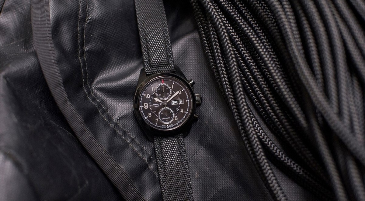 This Blacked-Out Hamilton Watch Is the Subtle Style Star of 'Jack Ryan'