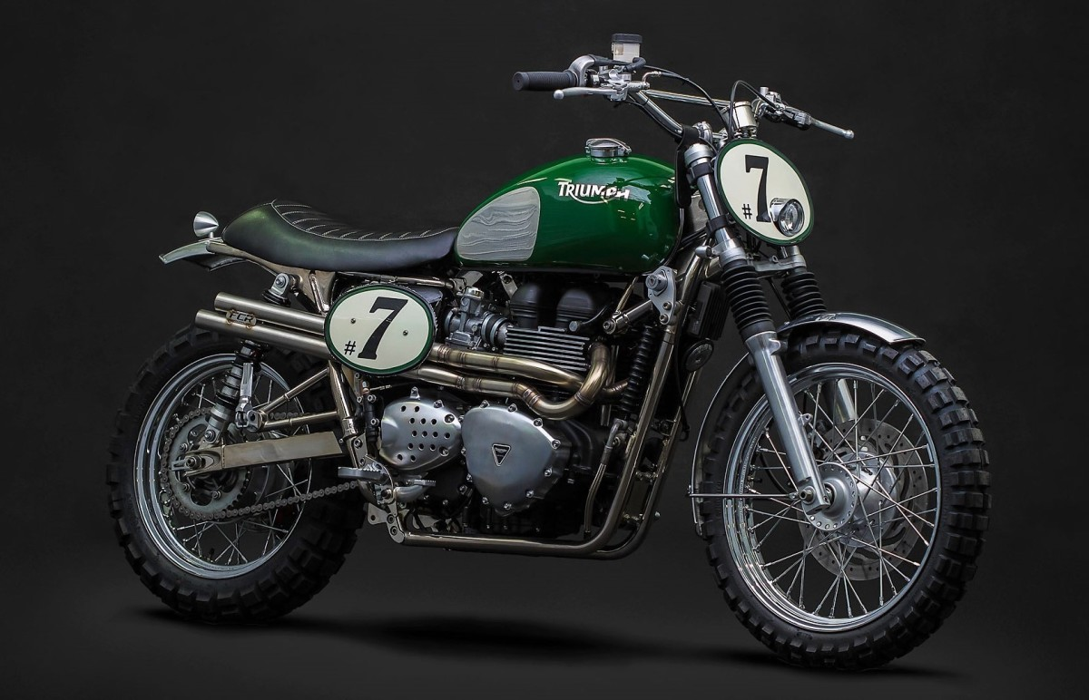 This Custom Triumph Bonneville Is A Rolling Tribute To Steve Mcqueen Airows