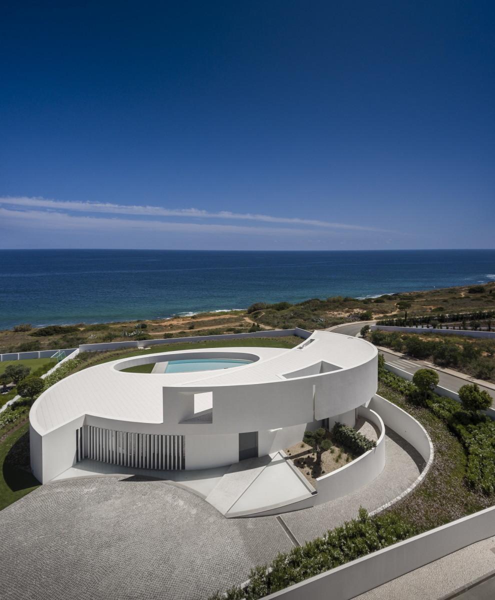 villa ellittica portogallo mare