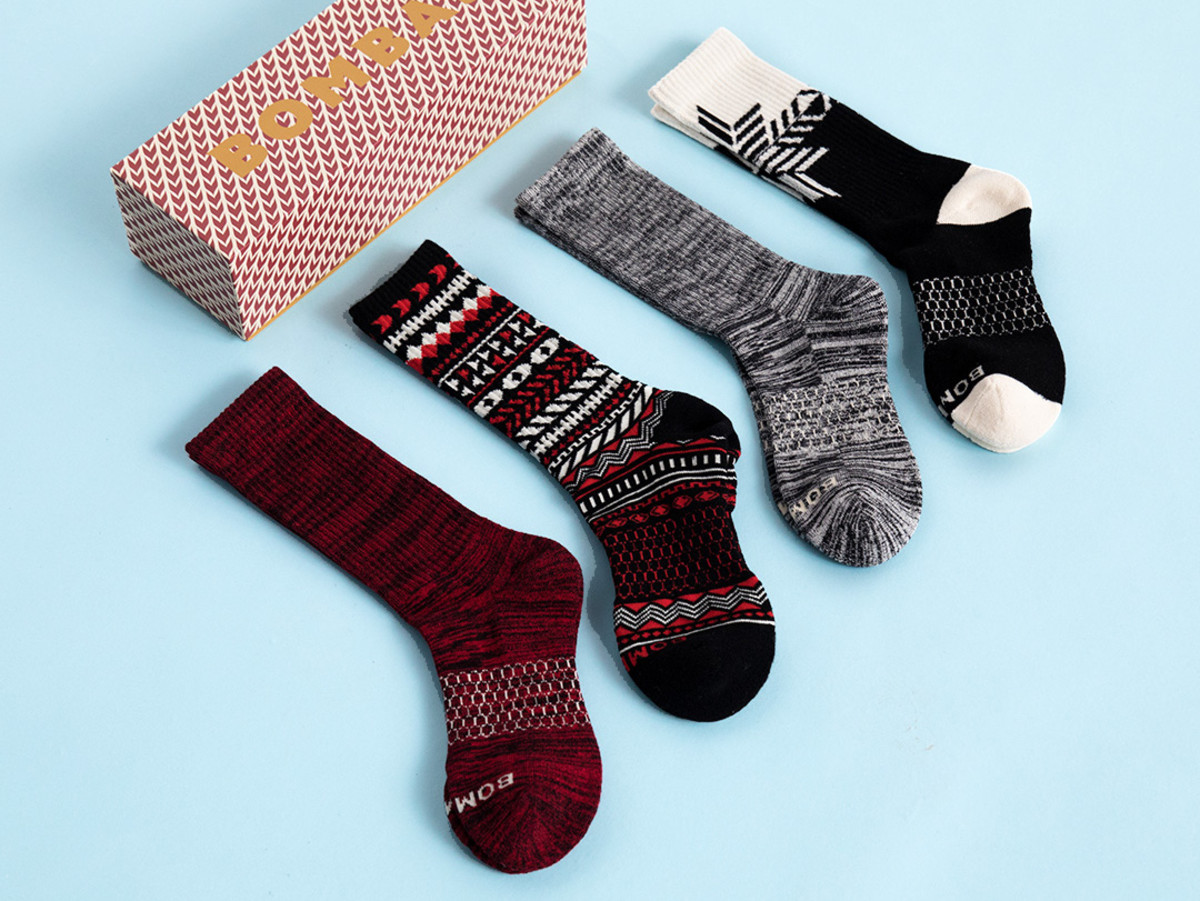 Embrace The Holiday Spirit With This Luxe Sock Pack Airows