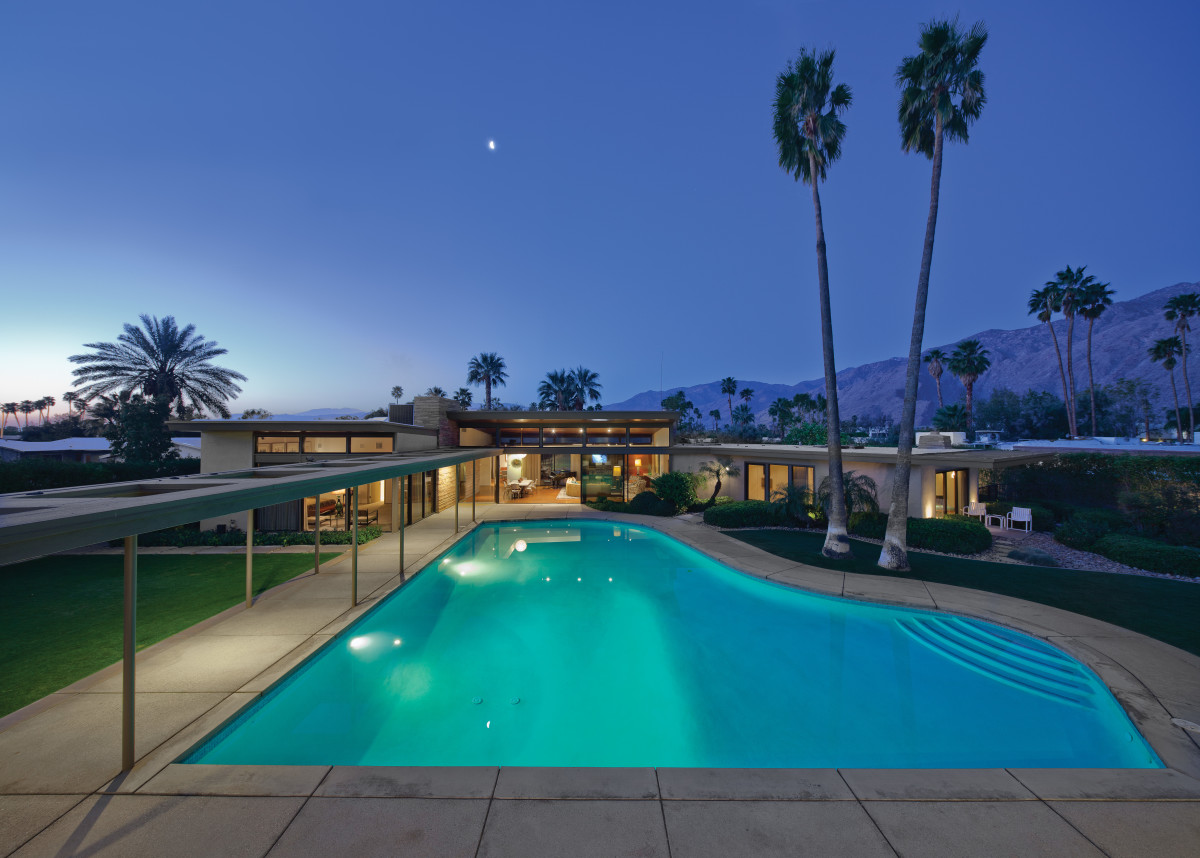 PICTURED: Frank Sinatra Residence Courtesy Rizzoli